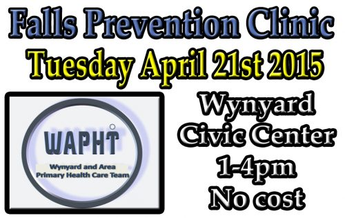 WAPHT- Falls Prevention Clinic