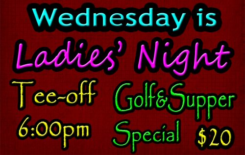 Wynyard Golf Course Ladies' Night