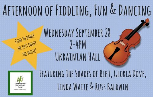 Fiddling, Fun & Dancing @ Ukrainian Hall