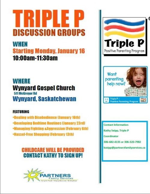 Parenting Discussion Groups @ Wynyard Gospel Church